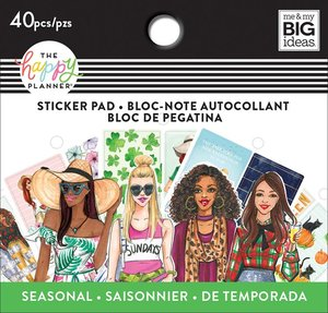 Mini pad de pegatinas Rongrong Seasonal Happy Planner