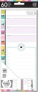 Páginas para notas Happy Planner y Skinny Happy Planner Focus Planner Babe