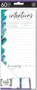 Páginas para notas Happy Planner y Skinny Happy Planner Stargazer Intentions