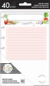 Páginas para Happy Planner formato Mini Tarjetas para Recetas