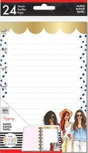 Páginas para notas Happy Planner formato Mini Rongrong