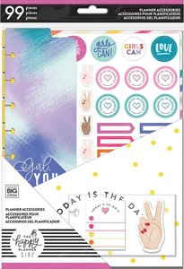 Pack accesorios Encourager para Happy Planner estándar