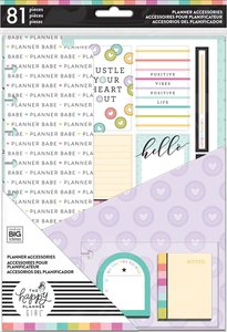 Pack accesorios Babe Planner para Happy Planner estándar
