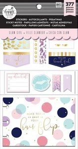 Set complementos Glam Girl Happy Planner