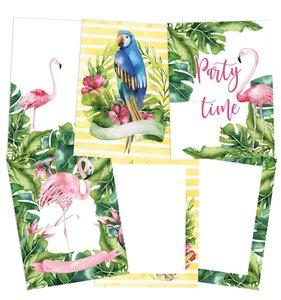 Mini Láminas Let's Flamingle