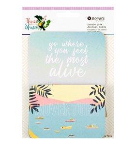 Tarjetas de Project Life Thrive and Shine
