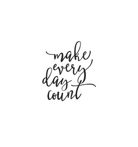 Pegatina vinilo para planner Make Every Day Count