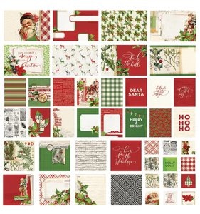 Snap Cards Simple Vintage Christmas