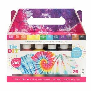 Kit para teñido de telas American Crafts Tie DIY 12 colors 4 oz