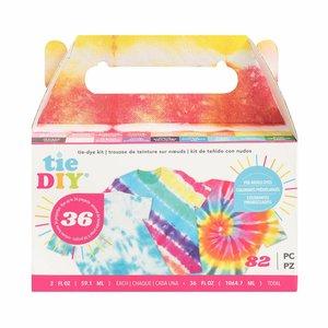 Kit para teñido de telas American Crafts Tie DIY 18 colors 2 oz
