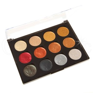 Cosmic Shimmer Iridiscent Watercolor Set Metallics