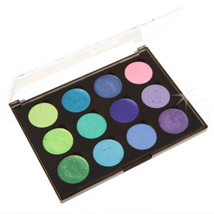 Cosmic Shimmer Iridiscent Watercolor Set Pastel Greens & Purples