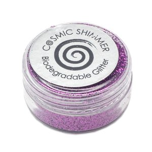 Cosmic Shimmer Biodegradable Glitter Raspberry Dazzle