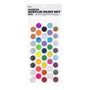 Set de pintura acrílica 40 colores