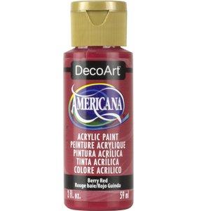 Berry Red Pintura Acrílica Americana