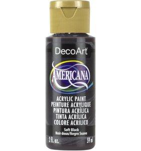 Soft Black Pintura Acrílica Americana