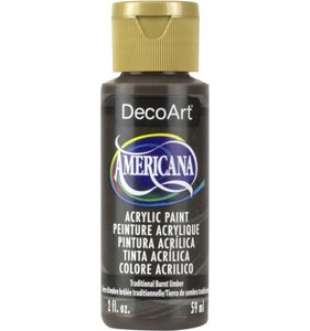 Traditional Burnt Umber Pintura Acrílica Americana