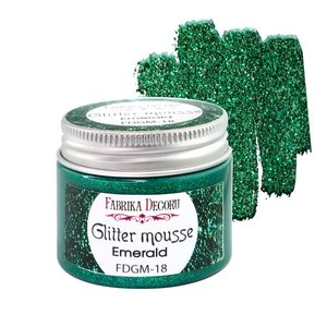 Glitter Mousse Emerald