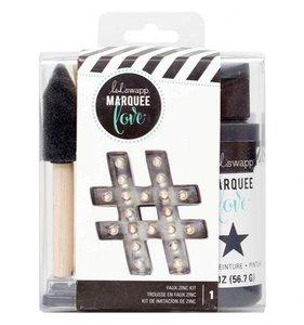 Kit Pintura Marquee Love Faux Zinc
