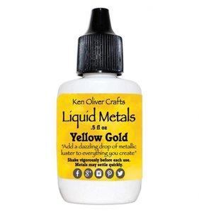 Yellow Gold Liquid Metals