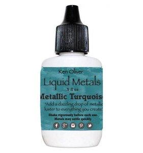 Turquoise Liquid Metals