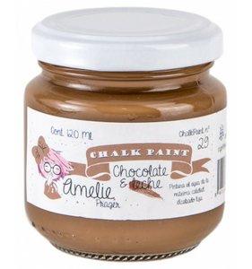 Pintura Chalk Amelie 120 ml Chocolate con leche