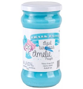 Pintura Chalk Amelie 280 ml Azul Turquesa