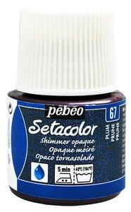 Pintura para tela Pebeo Setacolor CIRUELA TORNASOLADO