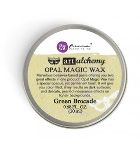 Opal Magic Wax Green Brocade