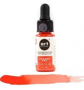 Acuarela Concentrada Prima Orange Red