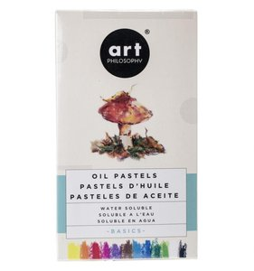 Prima Water Solubles Oil Pastels Basics