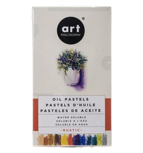 Prima Water Solubles Oil Pastels Rustic