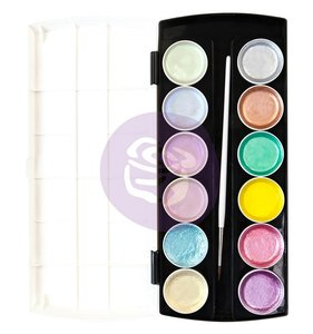 Semi-acuarelas Metallic Pastels Paint Set