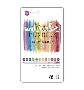 Set 12 lápices acuarelables Vintage Lover