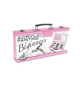 Set Acrílicos Essentials for Beginners Pink