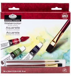 Set acuarelas R&L Essentials 20 pc