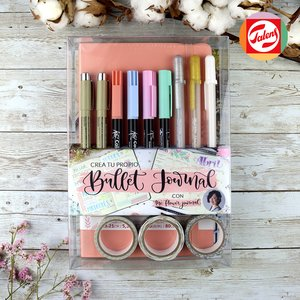 Crea tu propio Bullet Journal Rosa Pastel con The Flower Journal