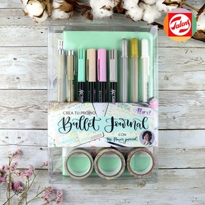 Crea tu propio Bullet Journal Turquesa Pastel con The Flower Journal
