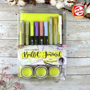 Crea tu propio Bullet Journal Verde Pastel con The Flower Journal