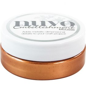 NUVO Embellishment Mousse Fresh Copper