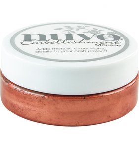 NUVO Embellishment Mousse Persian Red