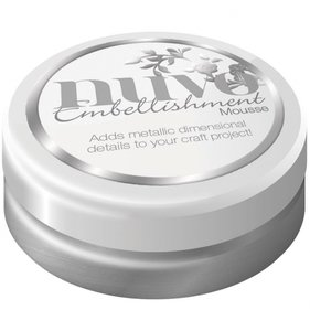 NUVO Embellishment Mousse Pure Platinum