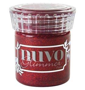 NUVO Glimmer Paste Garnet Red