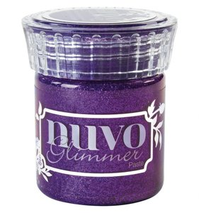 NUVO Glimmer Paste Amethyst Purple