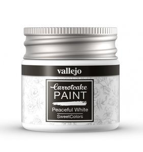 Pintura Peaceful White CarrotCake by Vallejo