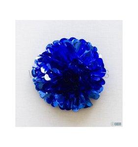 Pompón 35 cm Azul brillante