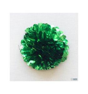 Pompón 35 cm Verde brillante