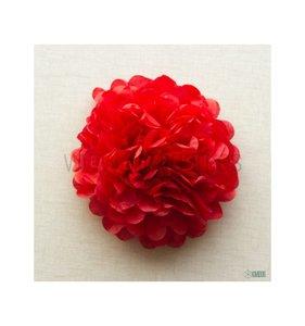 Pompón 50 cm Rojo