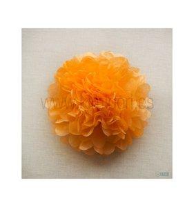 Pompón 50 cm Naranja