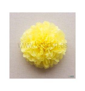 Pompón 50 cm Amarillo